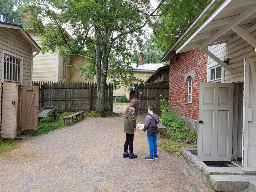 Tampere met kinderen Amuri