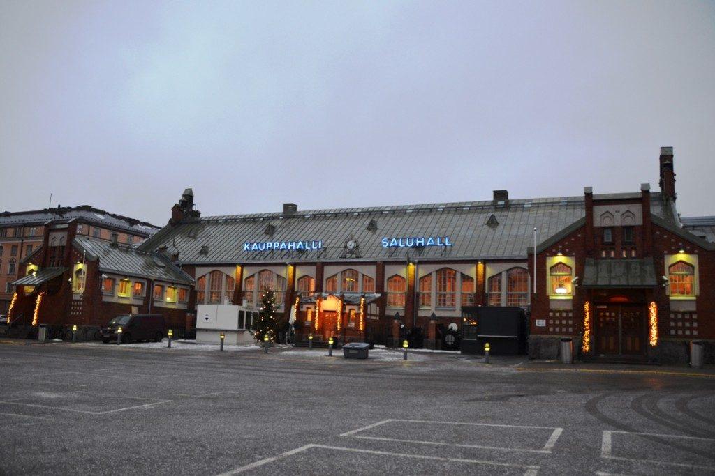 Markthal in Helsinki