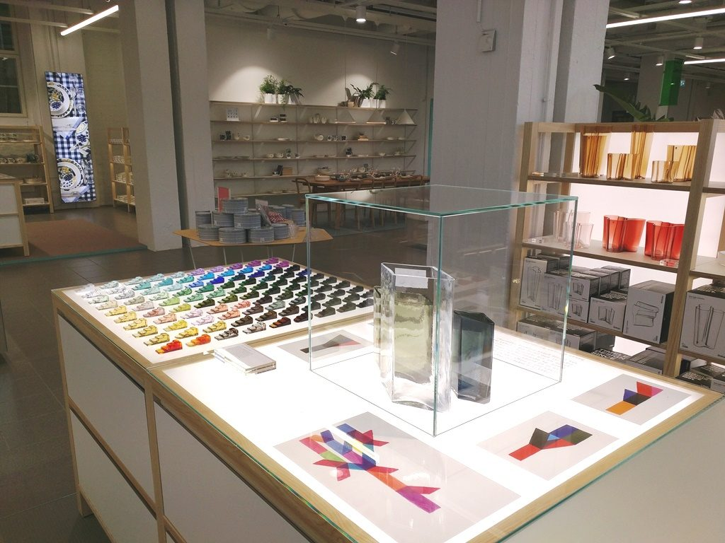Iittala en Arabia Design Centre in Helsinki