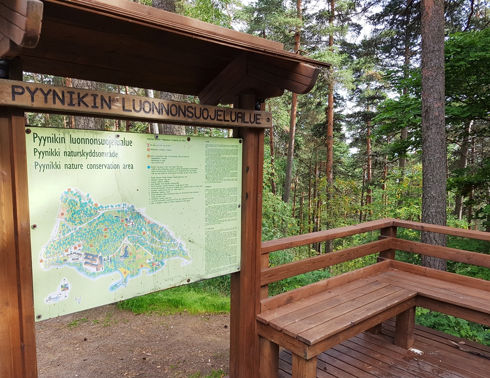 Natuur in Tampere Pyynikki