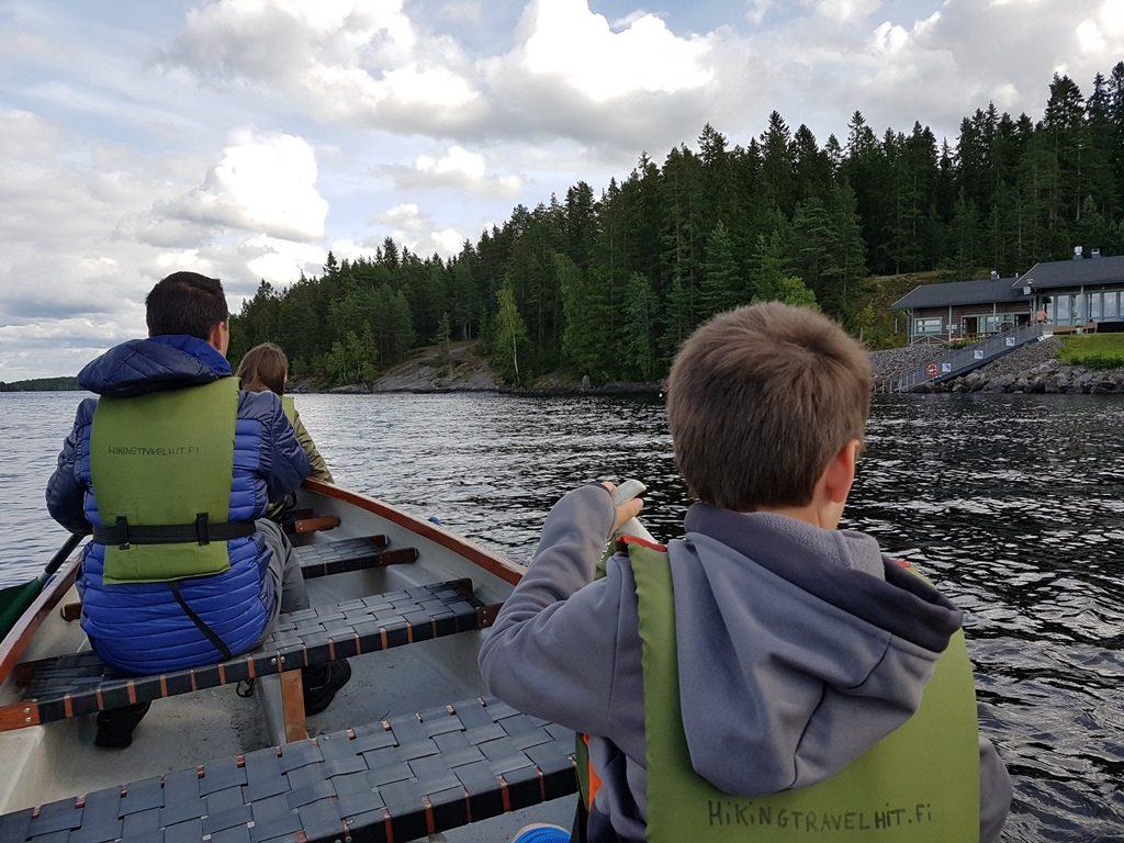 Kanovaren in de natuur in Tampere