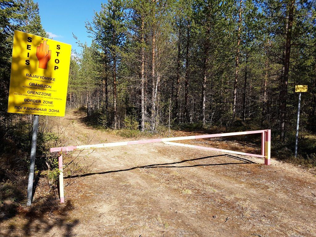 Russische grens in Finland