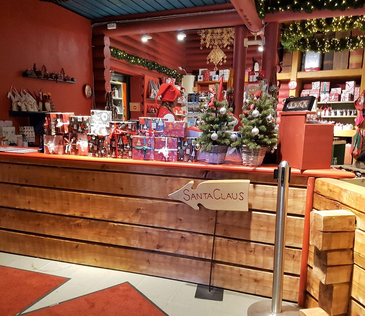 Kerstman in Rovaniemi