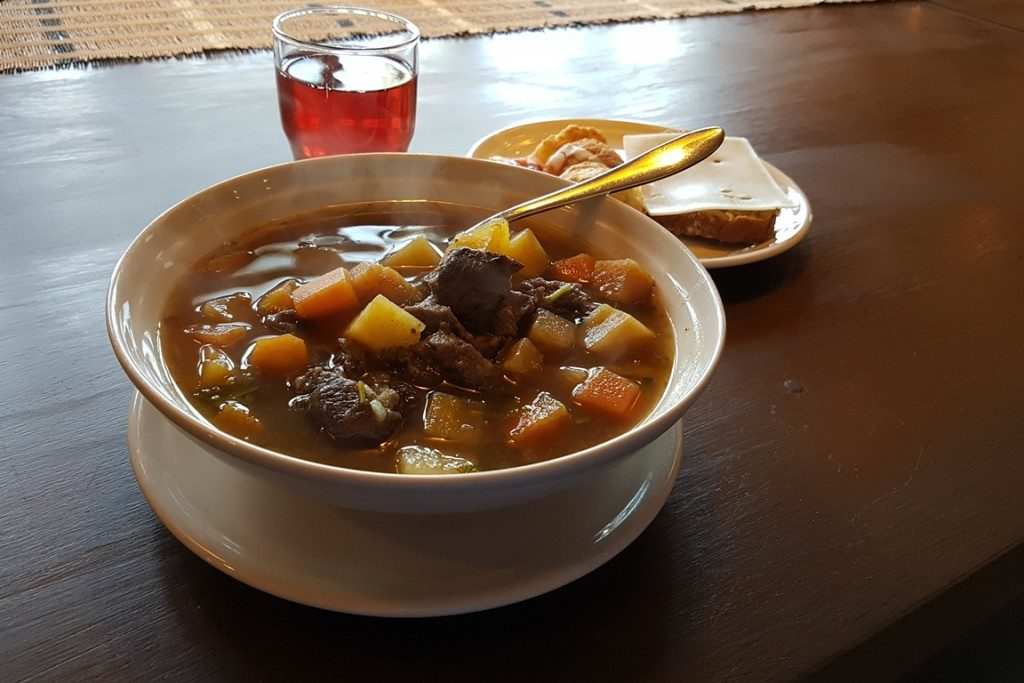 Soup in Luppolinna at Ruka Safaris