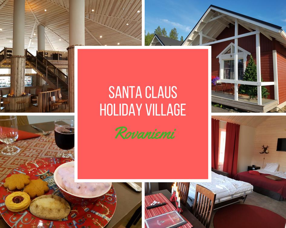 Santa Claus Holiday Village in Rovaniemi