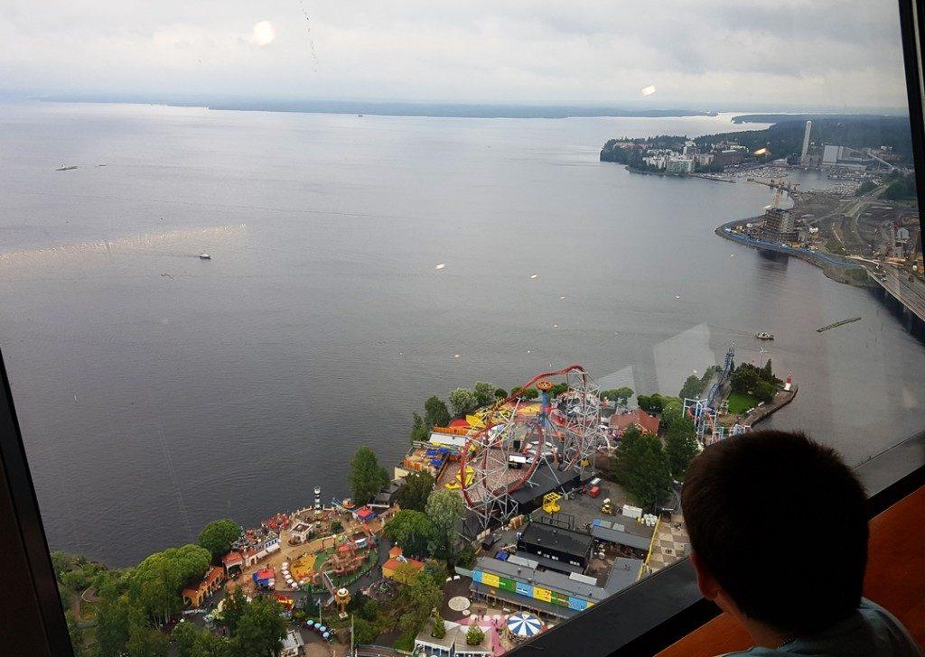 Tampere met kinderen: Sarkanniemi