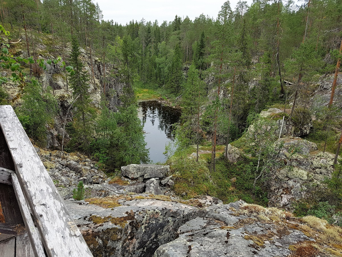 Wandelen in Finland NP Hiidenportti