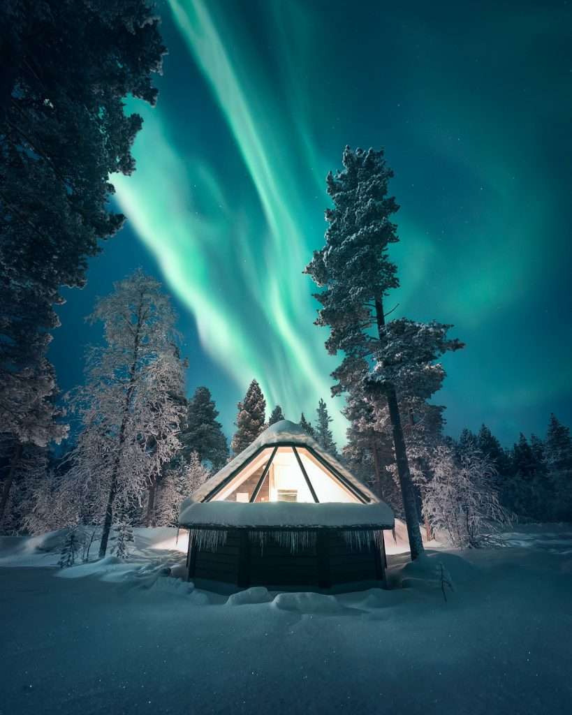 aurora village noorderlichthuisje finland