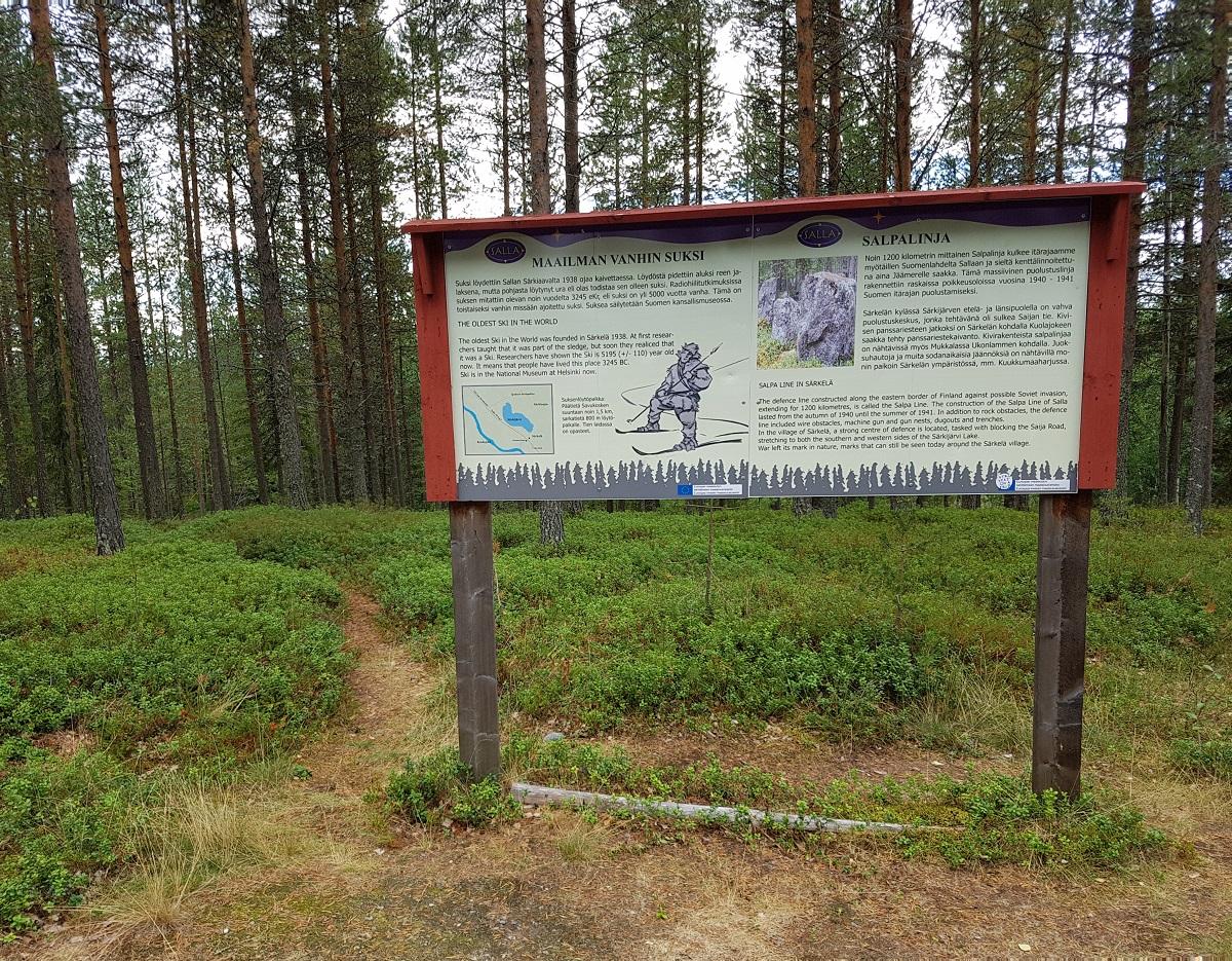 autoritten vanuit salla finland